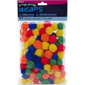 Primary - Pom-Pom Beads 90/Pkg