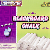 White - Blackboard Chalk Bucket 60/Pkg