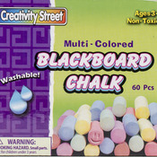 Assorted Colors - Blackboard Chalk 60/Pkg