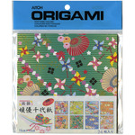 "8 Patterns Himeyu Chiyogami - Origami Paper 5.875""X5.875"" 24 Sheets"