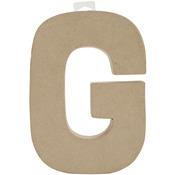 "G - Paper-Mache Letter 8""X5.5"""