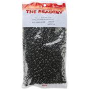 Opaque Black - Pony Beads 6x9mm 900/Pkg
