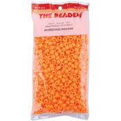 Opaque Orange - Pony Beads 6x9mm 900/Pkg