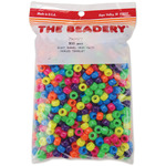 Neon Multicolor - Pony Beads 6x9mm 900/Pkg