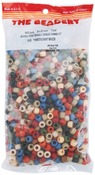 Americana Multicolor - Pony Beads 6x9mm 900/Pkg