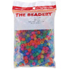 Frosted Multicolor - Pony Beads 6x9mm 900/Pkg
