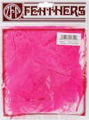 Pink Ornate - Marabou Feathers .25 Ounces