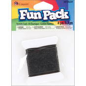 Black - Fun Pack Stretch Cord 4yd/Pkg