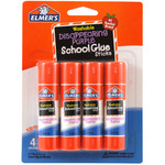 Elmer's Washable School Glue Stick - Purple 4/Pkg