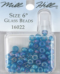 Midnight - Mill Hill Glass Beads Size 6/0 4mm 5.2 Grams/Pkg