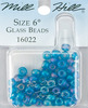 Frosted Opal Capri - Mill Hill Glass Beads Size 6/0 4mm 5.2 Grams/Pkg