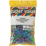 Cool Sparkle Multicolor - Pony Beads 6x9mm 415/Pkg