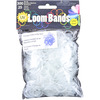 Blue - Uv Changing Loom Bands W/Clasps 300 Bands & 25 Clasps/Pkg