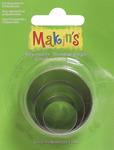 Round - Makin's Clay Cutters 3/Pkg