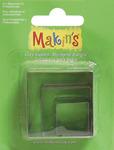 Square - Makin's Clay Cutters 3/Pkg