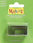 Rectangle - Makin's Clay Cutters 3/Pkg