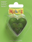 Heart - Makin's Clay Cutters 3/Pkg