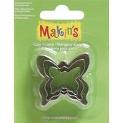 Butterfly - Makin's Clay Cutters 3/Pkg