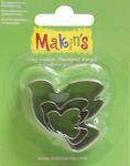 Dove - Makin's Clay Cutters 3/Pkg