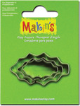 Holly Leaf - Makin's Clay Cutters 3/Pkg