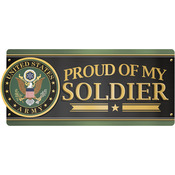 U.S.Army - Proud Of My Soldier - Car Magnet