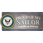 U.S.Navy - Proud Of My Sailor - Car Magnet