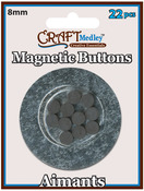 Magnetic Buttons On Mirror
