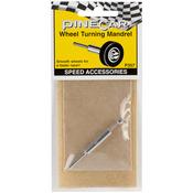 Wheel Turning Mandrel - Pine Car Derby Speed Accessories