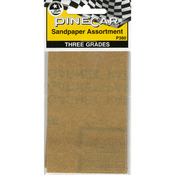 Pine Car Derby Sandpaper Assortment