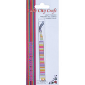 Rainbow - Curved Fine Point Tweezers