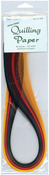"Fall (8 Colors) - Quilling Paper .125"" 80/Pkg"