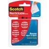 """Clear - Scotch Restickable Dots .875"""" 18/Pkg"""