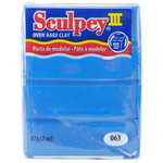 New Blue - Sculpey III Polymer Clay 2oz