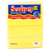 Yellow - Sculpey III Polymer Clay 2oz