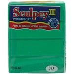 Emerald - Sculpey III Polymer Clay 2oz