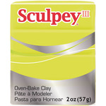 Acid Yellow - Sculpey III Polymer Clay 2oz