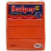 Just Orange - Sculpey III Polymer Clay 2oz