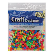 Neon Multicolor - Pony Beads 6x9mm 720/Pkg