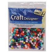 Opaque Multicolor - Pony Beads 6x9mm 720/Pkg
