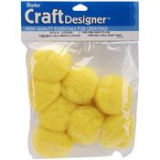 "Yellow - Pom-Poms 2"" 8/Pkg"