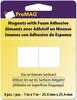 "1"" 4/Pkg - ProMag Square Magnets W/Foam Adhesive"