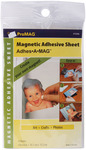 "ProMag Adhesive Magnetic Sheet, 4""X6"" 4/Pkg"