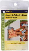 "ProMag Adhesive Magnetic Sheet, 4""X6"" 4/Pkg"