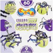 Creepy Glow Creatures - ZOOB Set 60pc
