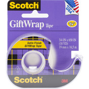 ".75""X650"" - Scotch Giftwrap Tape"