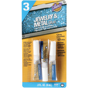 Aleene's Jewelry & Metal Glue .1oz 3/Pkg