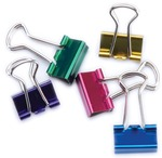 Assorted Colors - Mini Binder Clips