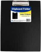 "Black - Vinyl Clipboard Folder 12.75""X9"""