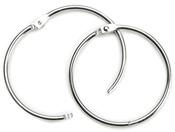 "Silver - Book Rings 3"" 1/Pkg"