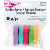 Tulip Wide Rubber Bands